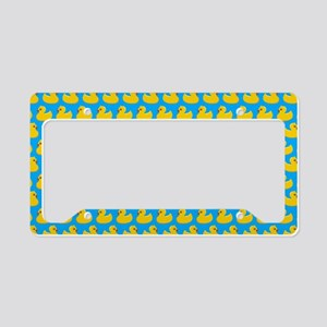 Rubber Duckies License Plate Holder