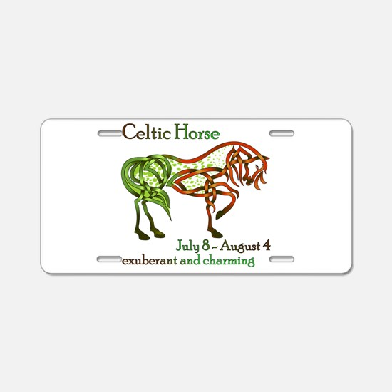 Celtic Horse Aluminum License Plate