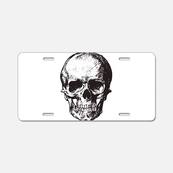 Drawing Aluminum License Plate