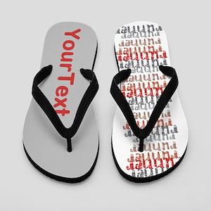 CUSTOMIZE Runner Flip Flops