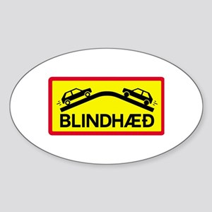 Blind Rise - Iceland Oval Sticker