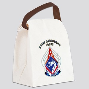 XVIII Airborne Corps - DUI Canvas Lunch Bag