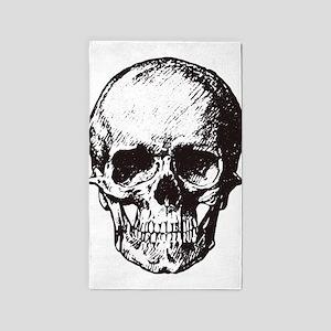 Skull I Area Rug