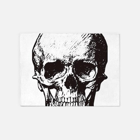 Skull I 5'x7'Area Rug