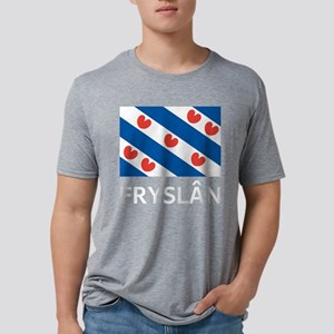 Fryslan Mens Tri-blend T-Shirt