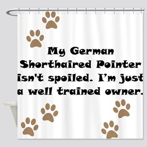 Well Trained German Shorthaired Pointer Owner Show