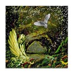 The Secret Garden Tile Coaster