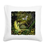 The Secret Garden Square Canvas Pillow