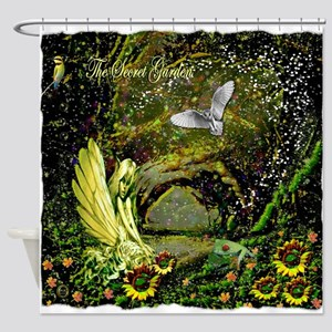 The Secret Garden Shower Curtain