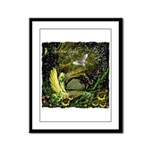 The Secret Garden Framed Panel Print