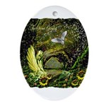 The Secret Garden Ornament (Oval)