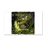 The Secret Garden Car Magnet 20 x 12