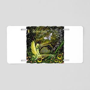The Secret Garden Aluminum License Plate