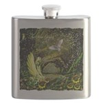 The Secret Garden Flask