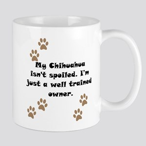 Well Trained Chihuahua Owner Small Mug