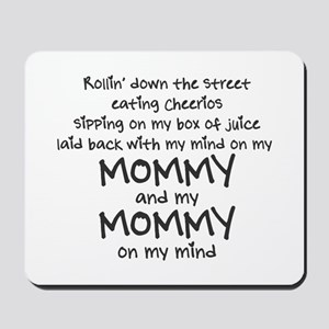 rollin-down-the-street-pin-black Mousepad