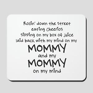 rollin-down-the-street-pin-black Mousepad