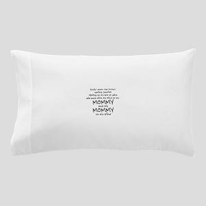 rollin-down-the-street-pin-black Pillow Case