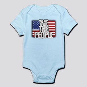 WE THE PEOPLE with Flag Body Suit