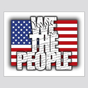 WE THE PEOPLE with Flag Posters
