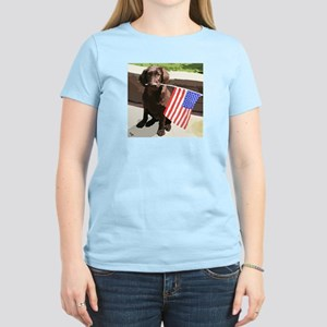 4th of July Puppy too T-Shirt