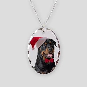 Santa Rottie Necklace