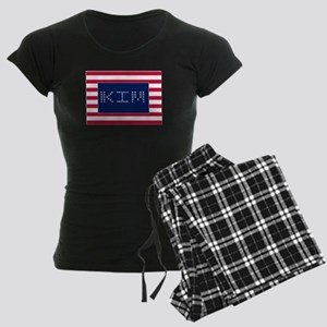 KIM Women's Dark Pajamas