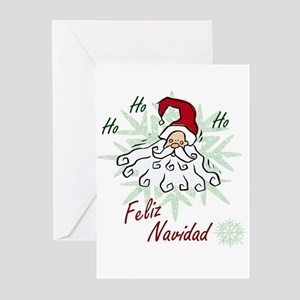 Merry Christmas (Spanish) Greeting Cards (Package