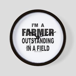 I'M A FARMER Wall Clock
