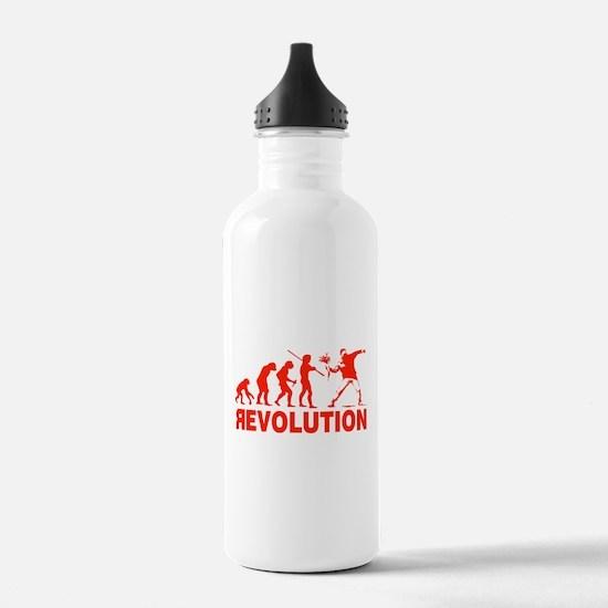 Revolution is following me Water Bottle