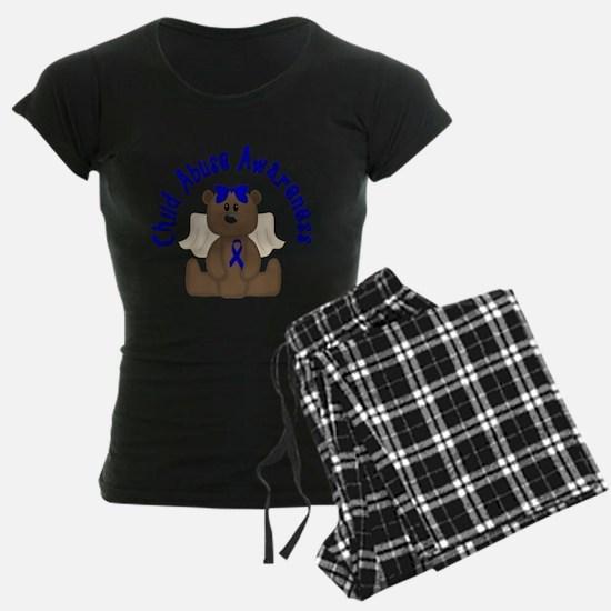 CHILD ABUSE AWARENESS WITH TEDDY BEAR Pajamas