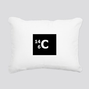 Carbon-14 Rectangular Canvas Pillow