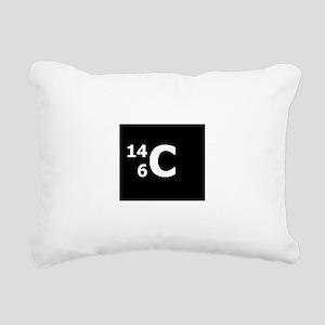 Carbon-14 Rectangular Canvas Pillow