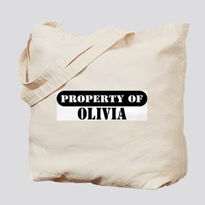 Property of Olivia Tote Bag