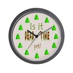 Dead Time Yet? Wall Clock