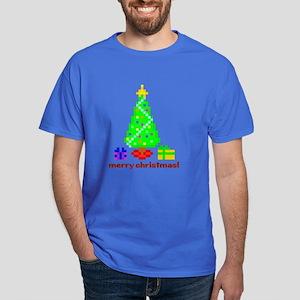 bit christmas mens dark t-shirt