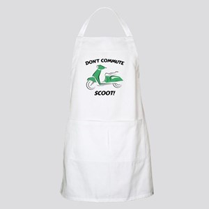 Don't Commute (Green) BBQ Apron