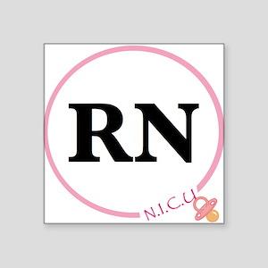 NICU RN Sticker