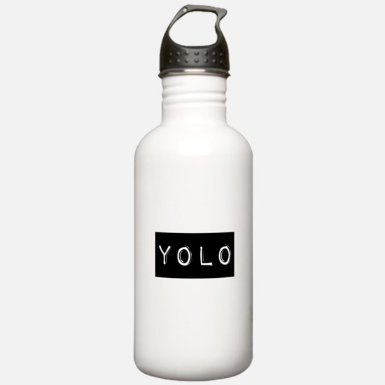 YOLO (You Only Live Once) Water Bottle