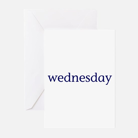 Wednesday Greeting Cards (Pk of 10)