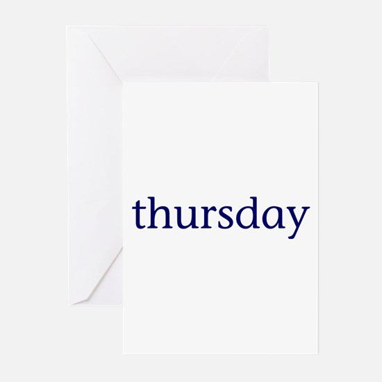 Thursday Greeting Cards (Pk of 10)