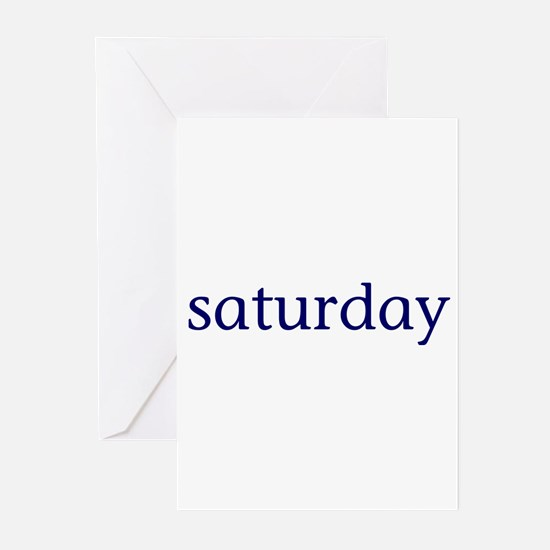 Saturday Greeting Cards (Pk of 10)