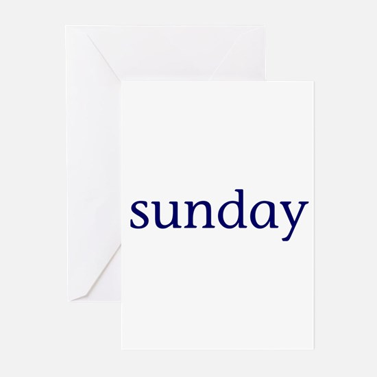 Sunday Greeting Cards (Pk of 10)