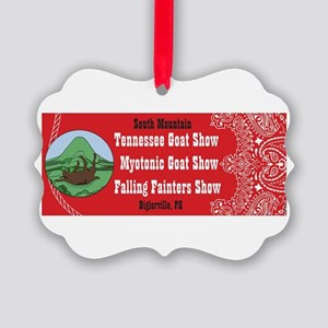 2015 South Mtn logo Picture Ornament