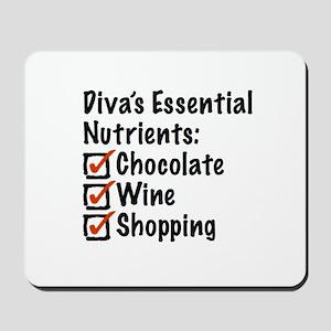 Diva's Essential Nutrients Mousepad