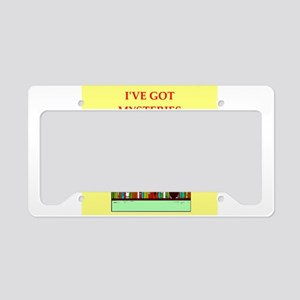 mystery lover License Plate Holder