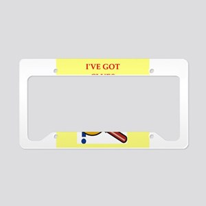 CLUES License Plate Holder