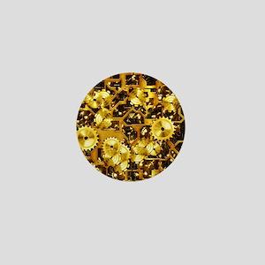 SteamClockwork-Brass Mini Button