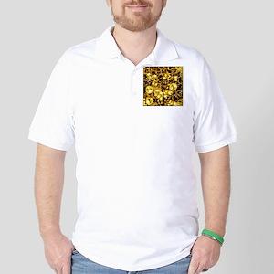 SteamClockwork-Brass Golf Shirt