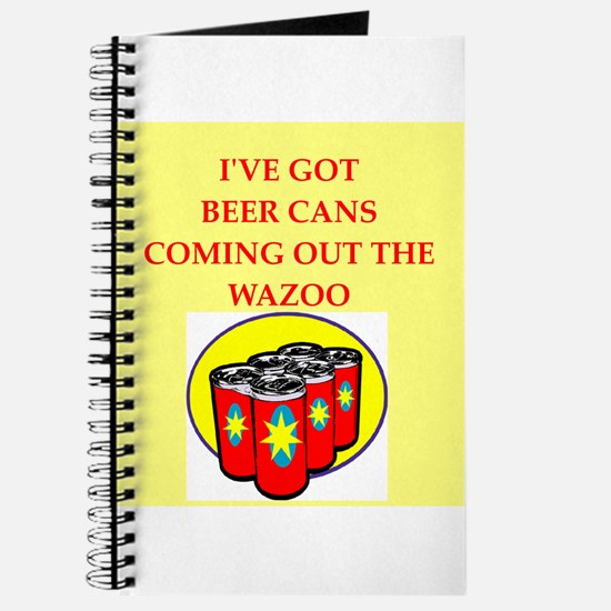 beer can Journal